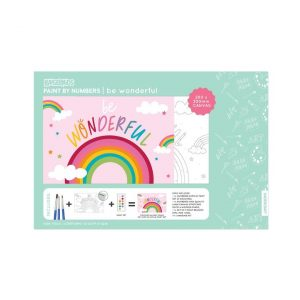 PAINT BY NUMBERS KIDS RAINBOW